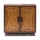Uttermost Sanele Honey Stain Console Cabinet