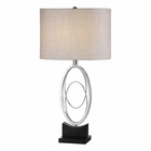 Uttermost Savant Polished Nickel Table Lamp