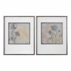 Uttermost Shadow Florals Prints S/2