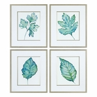 Uttermost Spring Leaves Prints S/4