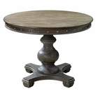 Uttermost Sylvana Wood Round Table