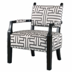 Uttermost Terica Geometric Accent Chair