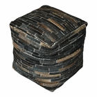 Uttermost Tiago Dark Brown Pouf