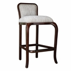 Uttermost Tilley Mahogany Bar Stool