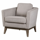 Uttermost Varner Beige Linen Accent Chair