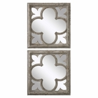 Uttermost Vellauni Quatrefoil Mirrors set of 2
