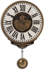 Uttermost Vincenzo Bartolini Cream Wall Clock