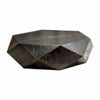 Uttermost Volker Worn Black Coffee Table