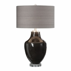 Uttermost Vrana Dark Gray Table Lamp