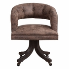 Uttermost Waylon Cocoa Brown Swivel Chair