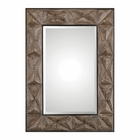 Uttermost Wilder Aged Wood Mirror