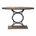 Uttermost Wynn Industrial Console Table