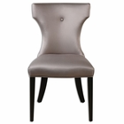 Uttermost Wynter Satin Armless Chair