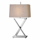 Uttermost Xavier Nickel Table Lamp