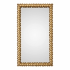 Uttermost Yamuna Metallic Gold Mirror