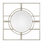 Uttermost Zenon Contemporary Silver Mirror