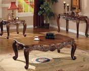 Venice Traditional Rectangular Cocktail Table Set CO70046