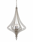 ELK Ventoux Collection 6 Light Chandelier in Satin Silver EK-46062-6