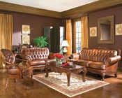 Victoria Classic Rolled Arm Sofa Set CO50068