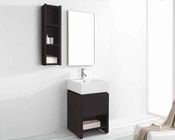 "Virtu USA 20"" Bathroom Vanity set Curtice in Espresso VU-ES-2020-C-ES"
