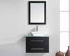 "Virtu USA 29"" Single Bathroom Vanity Marsala Espresso VU-MS-560-G-ES"