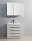 "Virtu USA 30"" Single Bathroom Vanity Bailey White VU-JS-50530-GW"