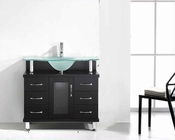 "Virtu USA 36"" Single-Sink Bathroom Vanity Vincente Espresso VU-MS-36"