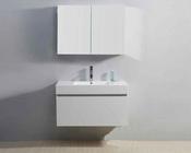 "Virtu USA 39"" Single Bathroom Vanity Zuri Gloss White VU-JS-50339-GW"