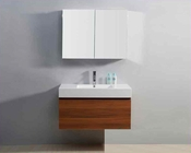 "Virtu USA 39"" Single Sink Bathroom Vanity Zuri in Plum VU-JS-50339-PL"