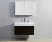 "Virtu USA 39"" Single Sink Bathroom Vanity Zuri in Wenge VU-JS-50339-WG"