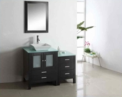 "Virtu USA 46"" Single Bathroom Vanity Brentford in Espresso VU-MS-4446"