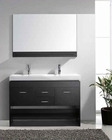 "Virtu USA 48"" Double Bathroom Vanity Gloria in Espresso VU-MD-423-C-ES"