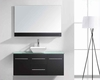 "Virtu USA 48"" Single Sink Bathroom Vanity Marsala Espresso VU-MS-420"