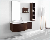 "Virtu USA 48"" Single Bathroom Vanity set Isabelle in Walnut VU-ES-1048"