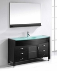 Virtu USA Ava 55in Single Bathroom Set in Espresso VU-MS-5055-G-ES