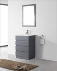 Virtu USA Bruno Grey 24in Single Bathroom Set VU-UM-3085-C-GR