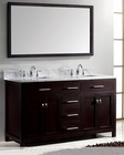 Virtu USA Caroline Avenue Bedroom Set in Espresso VU-MD-20-WMSQ-ES