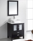 Virtu USA Espresso 28in Single Bathroom Set Brentford VU-MS-4428-S-ES