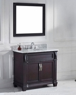 Virtu USA Espresso Victoria 36in Single Bathroom Set VU-MS-2636-WM-ES