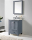 Virtu USA Grey Bathroom Vanity Set Caroline Avenue VU-GS-50024-WMSQ-GR