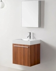 Virtu USA Plum 24in Single Bathroom Vanity Set Midori VU-JS-50124-PL