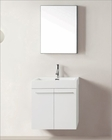 Virtu USA White 24in Single Bathroom Vanity Set Midori VU-JS-50124-GW