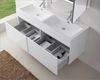 Virtu USA Zuri White 55in Double Bathroom Vanity Set VU-JD-50355-GW
