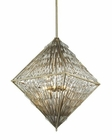 ELK Viva Natura 8 Light Chandelier in Aged Silver EK-31781-8