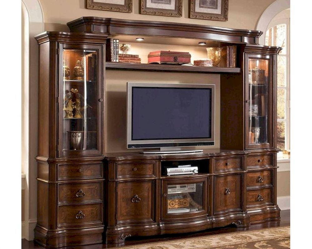 Wall Unit Home Entertainment Wall Units  Wall Entertainment Centers