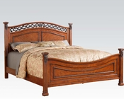 Walnut Finish Bed Manfred by Acme Furniture AC22770BED