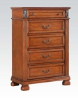 Walnut Finish Chest Manfred by Acme Furniture AC22776