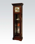 Walnut Granfather Clock in Traditional Style by Acme Furniture AC97075