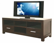 Warehouse Interiors Robbin Dark Brown Modern TV Stand BS-RO107