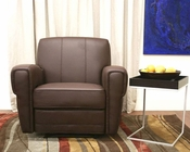 *Warehouse Interiors Smithson Faux Leather Modern Recliner BS-J-252